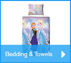 Character bedding and towels