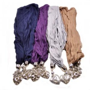 Wholesale charm pendant scarves ak hosiery pendant scarves aloadofball Choice Image