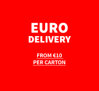 European Delivery from €10 per carton