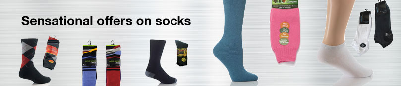 Sock category banner