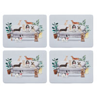 Curious Dogs 4 Pack Placemats
