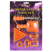 Spooky Halloween Pumpkin Carving Tool Set
