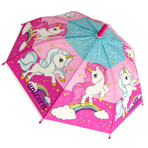 Childrens Unicorn Umbrella
