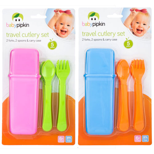 5 Piece Travel Cutlery Set