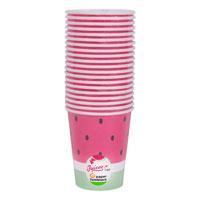 Watermelon Design Paper Tumbler 20 Pack