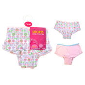 Girls Boxer Shorts 2 Pack