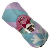 Official LOL Surprise Snow Flake Fleece Blanket