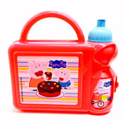 Peppa Pig Hard Lunch Box and Bottle Set