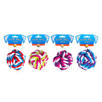 Cotton Rope Knot Ball Dog Toy