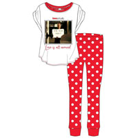 Ladies Official Love Actually Picture Pyjamas