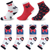Bow Design Kids Novelty Socks