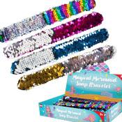 Mermaid Sequin Snap Bracelet