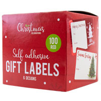 Christmas Foil Gift Labels