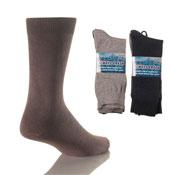 Mens 6 Pack Lycra Socks Always Fresh
