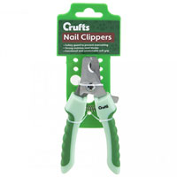 16cm Crufts Soft Grip Nail Clippers