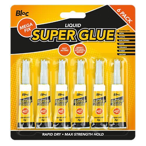 Bloc Super Glue 6 Pack