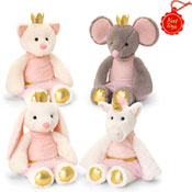 20cm Confetti Animal Soft Toy