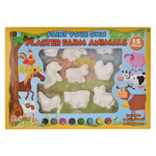 Paint Your Own Plaster Farm Animals
