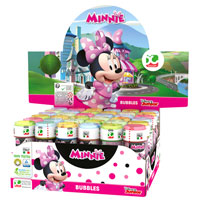 Official Minnie Mouse Novelty Soap Bubbles