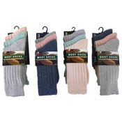 Ladies Wool Blend Boot Socks