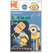 Despicable Me Colouring Pad and Pencils