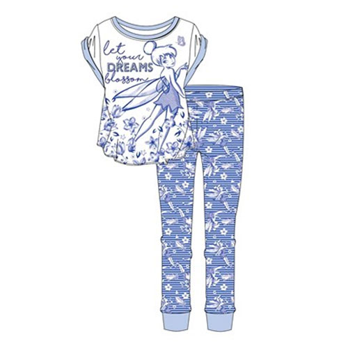 Official Ladies Tinkerbell Pyjama Set