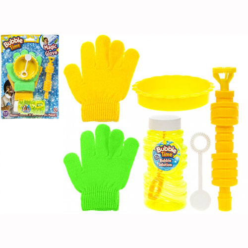 Touch Bubbles With Magic Gloves Set