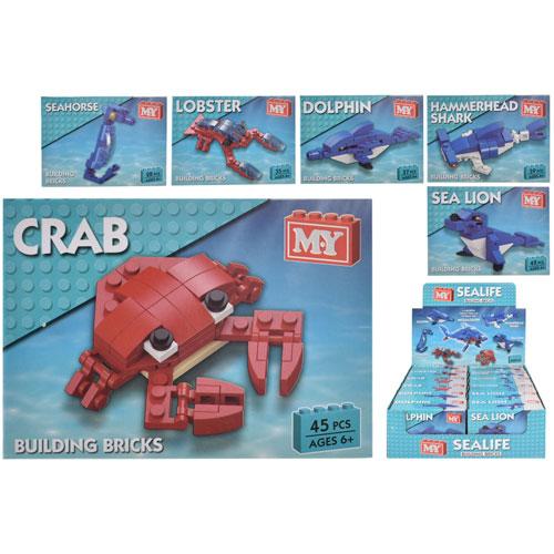 Sea Animals Bricks Sets
