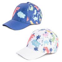Babies Dino Print Baseball Cap