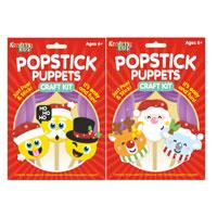 Christmas Popstick Puppets Craft Kit
