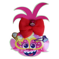 Official Trolls Hair Bow And Clips