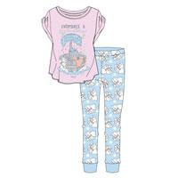 Ladies Dumbo Spa Day Pyjamas