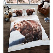 3D Bear Duvet Set