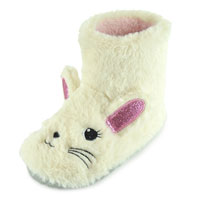 Kids Bunny Bootee Slippers
