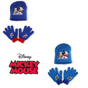 Childrens Hat & Glove Set Mickey Mouse