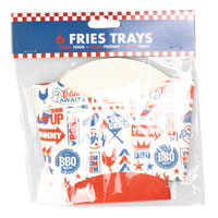 BBQ Fries Trays 6 Pack