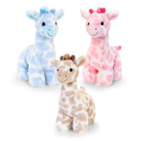 18cm Snuggle Giraffe Soft Toy