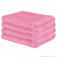 Luxury Wilsford Cotton Bath Sheet Blush Pink