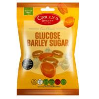 Glucose Barley Sugar Crillys Sweets 130g Bag