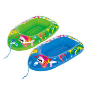 Inflatable Childs Sea Life Design Boat