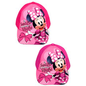 Childrens Minnie Mouse Baseball Cap