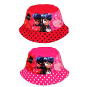 Childrens Miraculous Ladybug Bush Hats