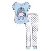 Ladies Eeyore Donkey Winnie The Pooh Pyjama Set