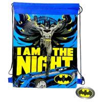 Official Pull String Bag Batman