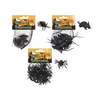 Halloween Creepie Crawlies Set 12 Pack