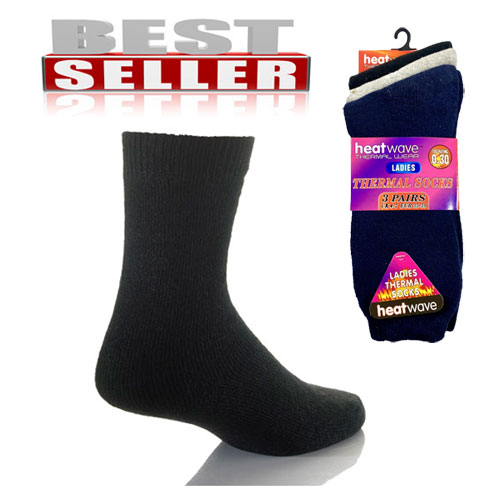 Ladies Heatwave Thermal Socks