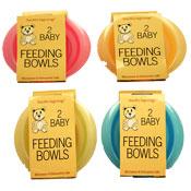Baby Feeding Bowls 2 Pack