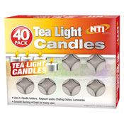 Tea Light Candles 40 Pack