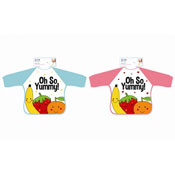 Long Sleeve So Yummy Baby Bib