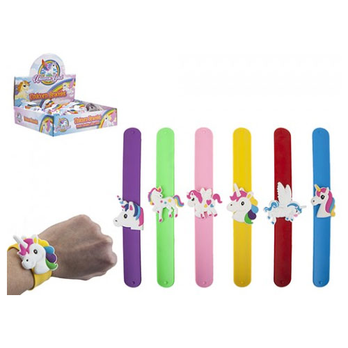 Unicorn Design Snap Bracelet